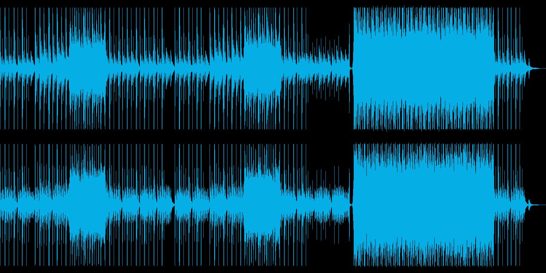 企業VP切なく壮大に盛り上がるピアノ曲②の再生済みの波形