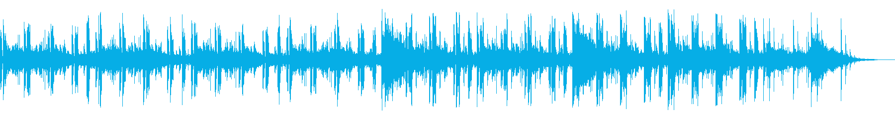 事件の考察中などに流れそうな曲の再生済みの波形