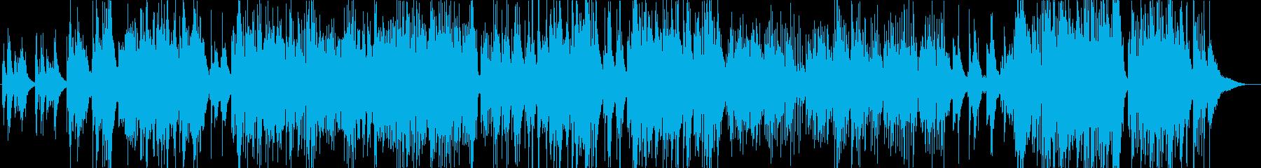 展開が感動的なバラードの再生済みの波形
