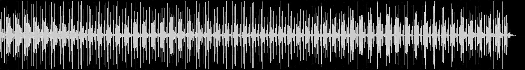 [ニュース報道]無機質:フラット:04の未再生の波形