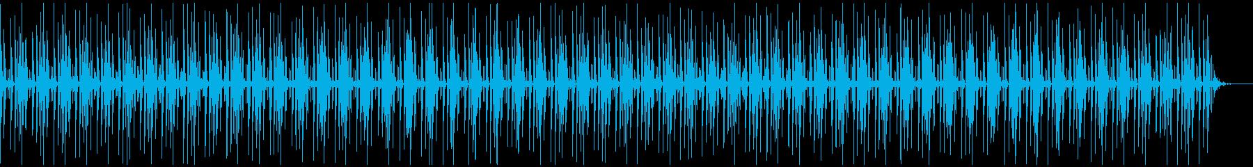 [ニュース報道]無機質:フラット:04の再生済みの波形