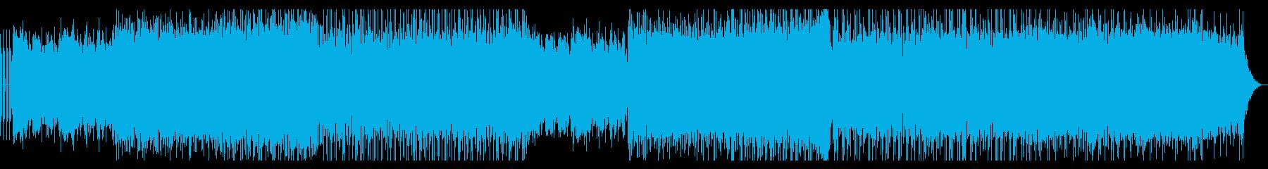 戦闘・EDM・ゲーム・臨場感・ハウスの再生済みの波形