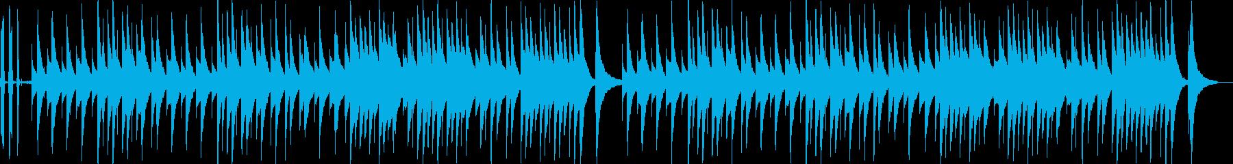 ジムノペディのオルゴール音源ネジの音付きの再生済みの波形
