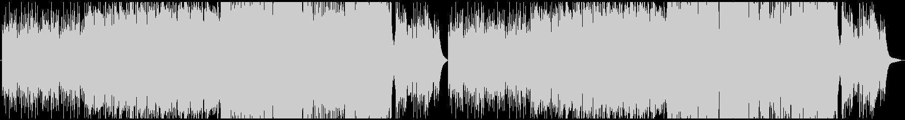 切ないケルト曲の未再生の波形