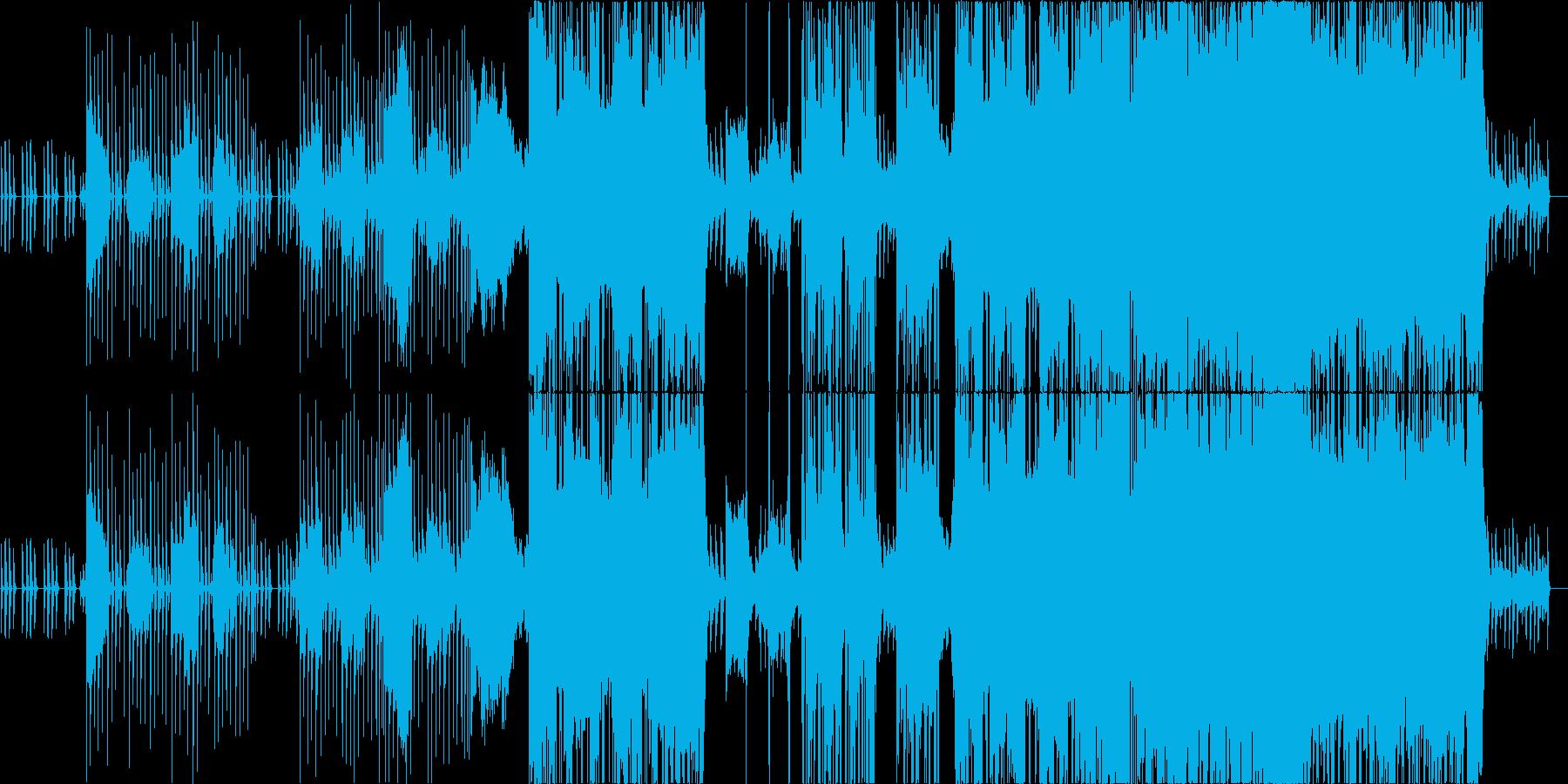 【生演奏】柔らかい雰囲気のバラードの再生済みの波形