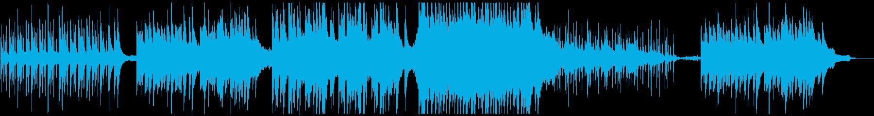 ほのぼの・平和な村・町BGM(ループ)の再生済みの波形