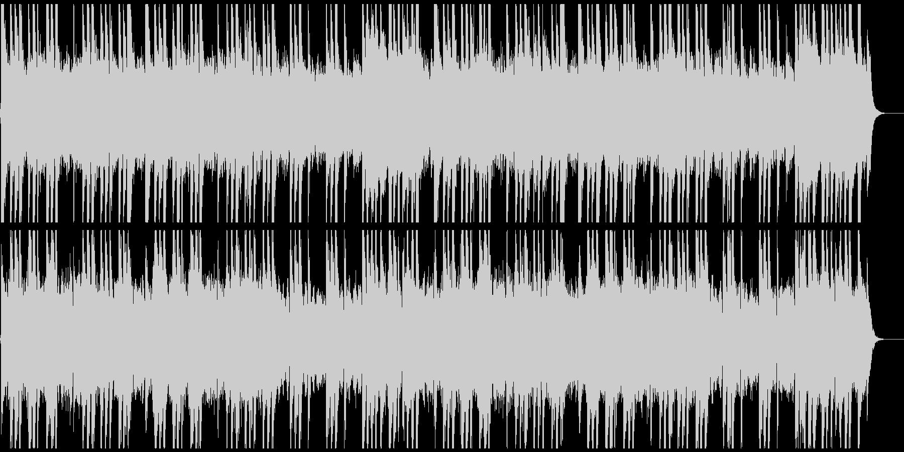 日本料亭風の静かな琴の未再生の波形