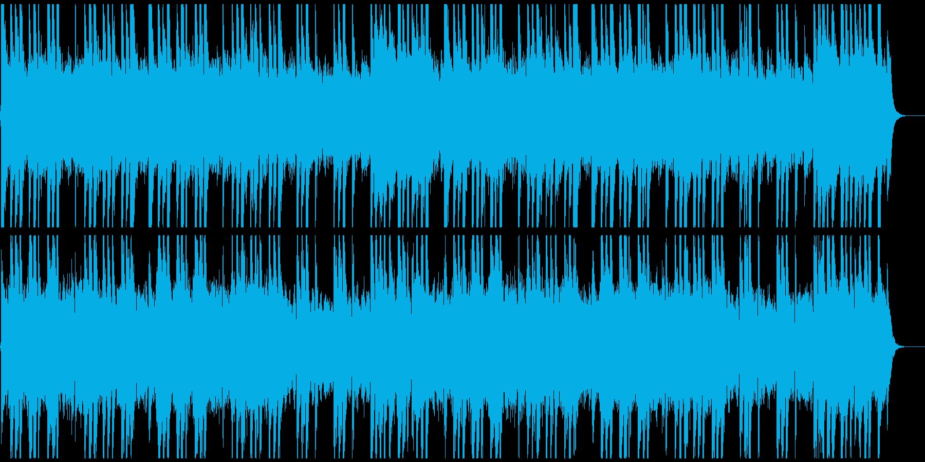日本料亭風の静かな琴の再生済みの波形