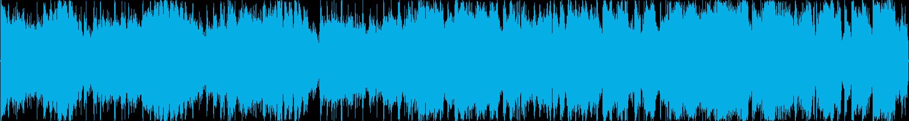 イベント達成の時のファンファーレの再生済みの波形