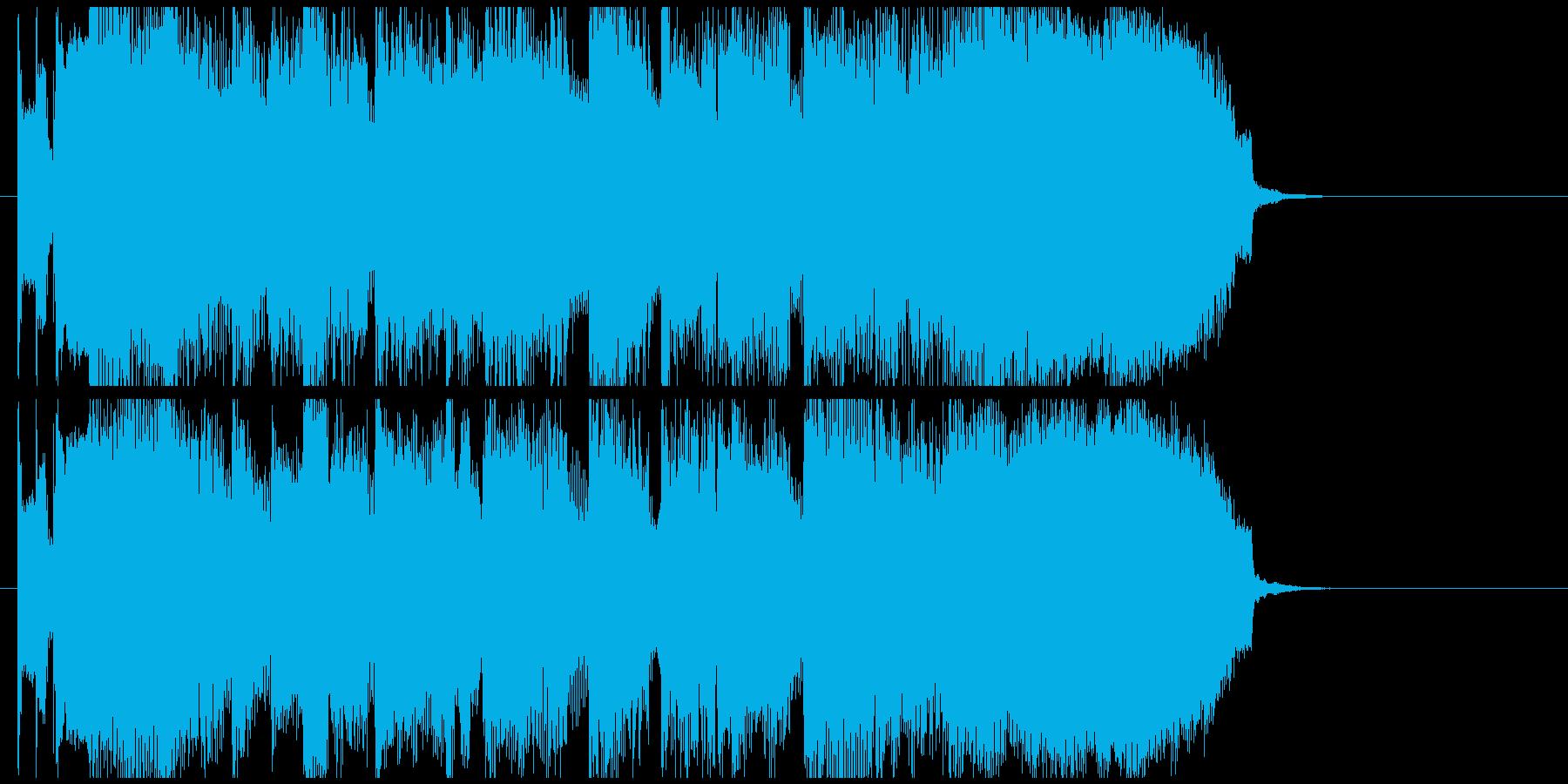 シックでムーディーなバラード系ジングルの再生済みの波形
