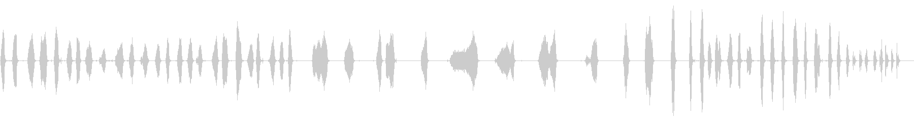 ストローブルーム:ガレージクリーニ...の未再生の波形