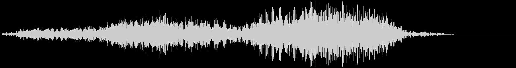 【物音】 ひきずる音_05 ギーッ・・・の未再生の波形