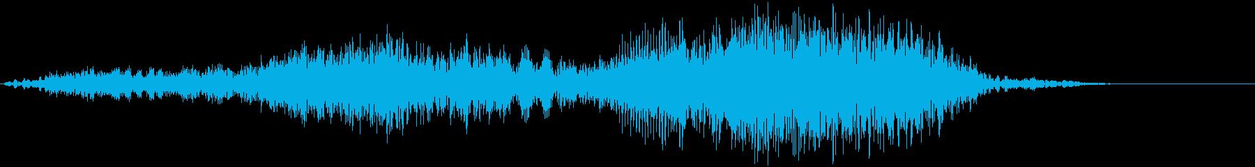 【物音】 ひきずる音_05 ギーッ・・・の再生済みの波形