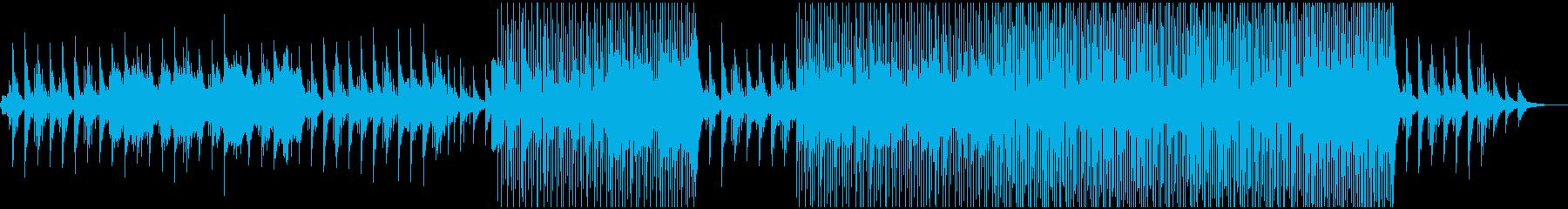 優しいピアノとストリングスのプレリュードの再生済みの波形