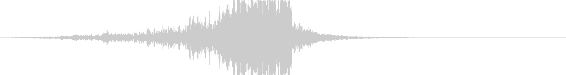 ドラマティックなリバース音33-01の未再生の波形