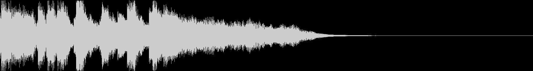 ファンファーレ シンプル 正解合格 12の未再生の波形