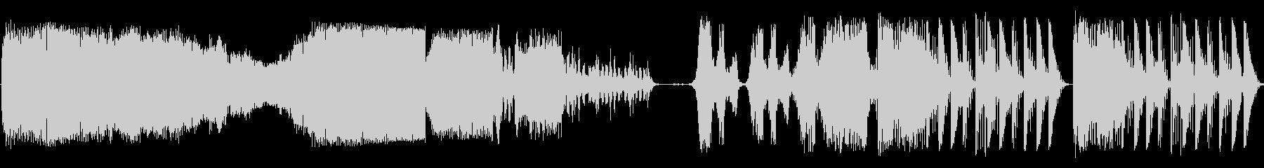 ランダムチューンSci Fiバンパーの未再生の波形