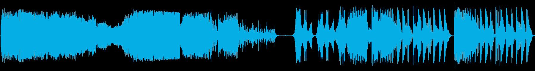 ランダムチューンSci Fiバンパーの再生済みの波形