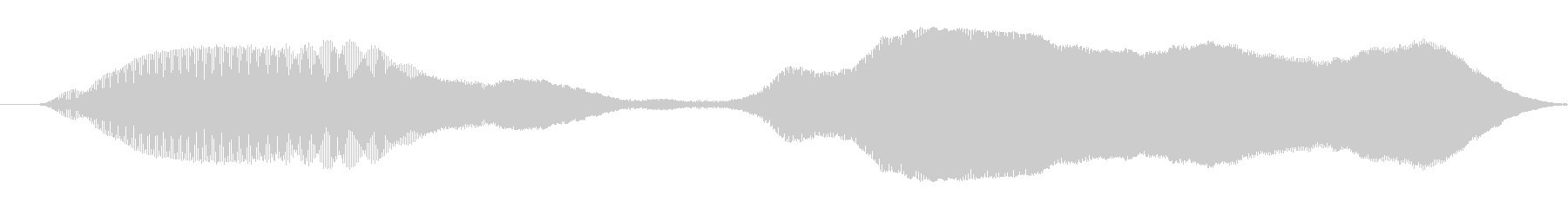 ゆっくりと漫画スライドwhiの未再生の波形