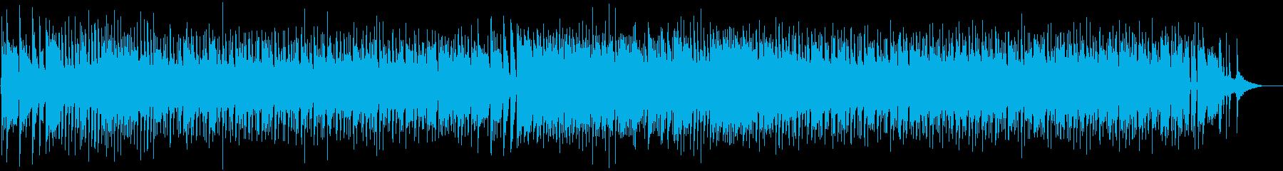 ノリ良いロックンロールセッションの再生済みの波形