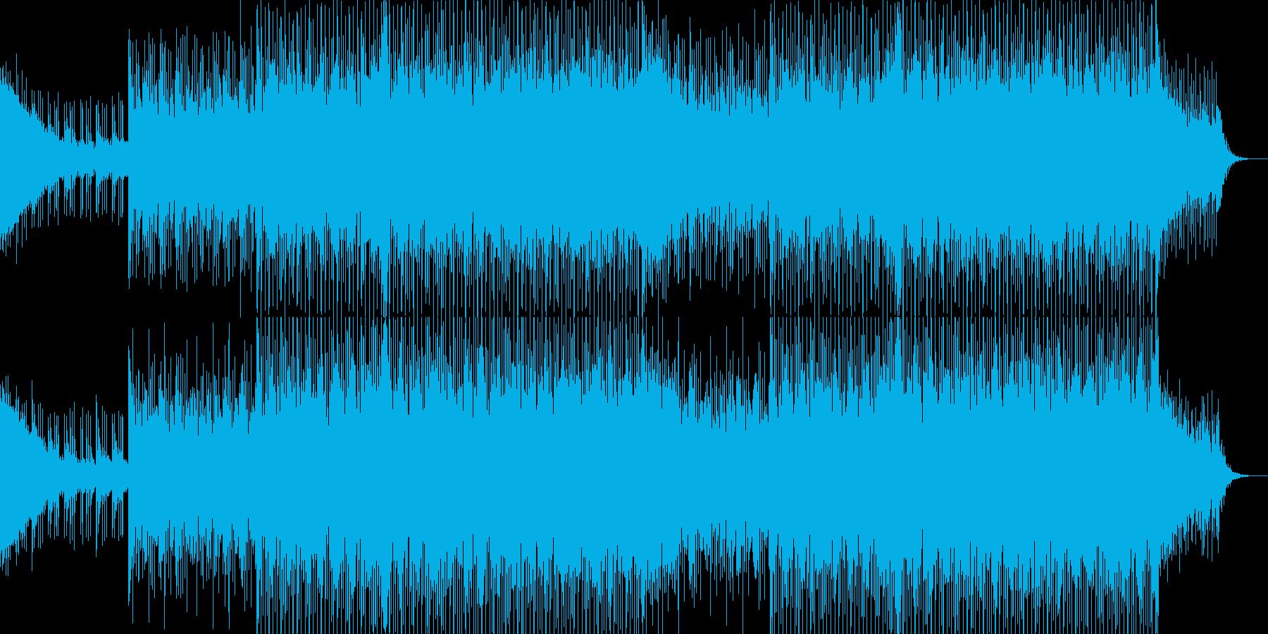 EDMクラブ系ダンスミュージック-77の再生済みの波形