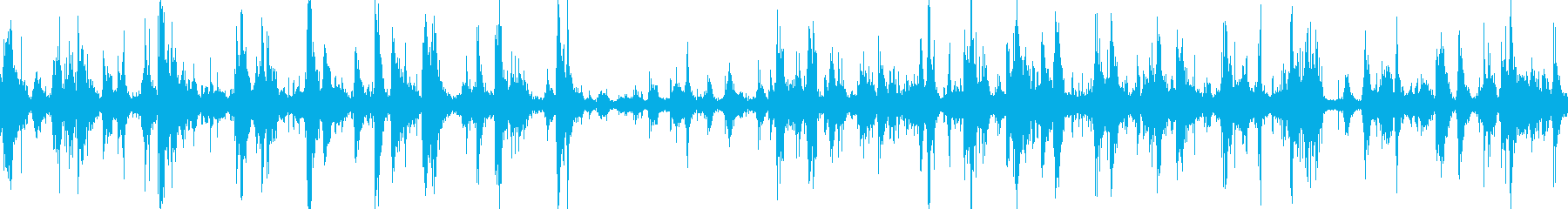 さびたパラシュートの再生済みの波形