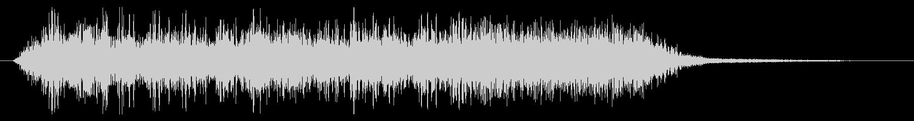 メタル/ハードロック/ジングル/場面転換の未再生の波形
