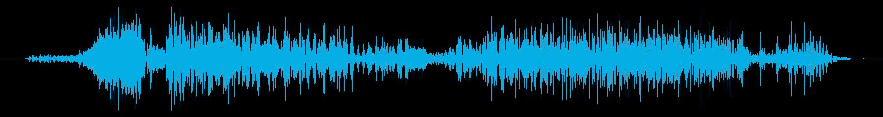 カエル モンスター ゲーム 登場時の再生済みの波形