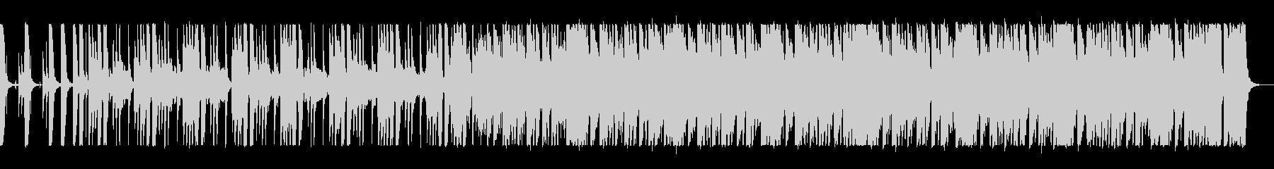 軽快なブラスジャズサウンドの未再生の波形