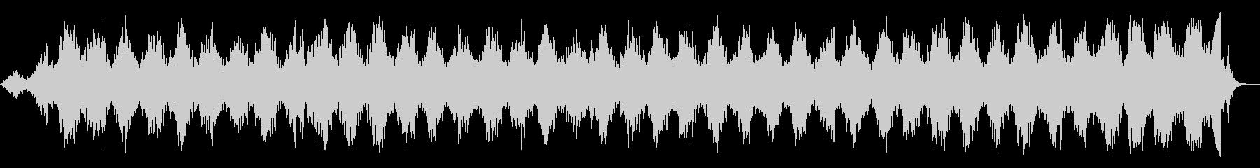 旋回ラジオスイーパーの未再生の波形