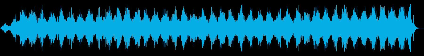 旋回ラジオスイーパーの再生済みの波形