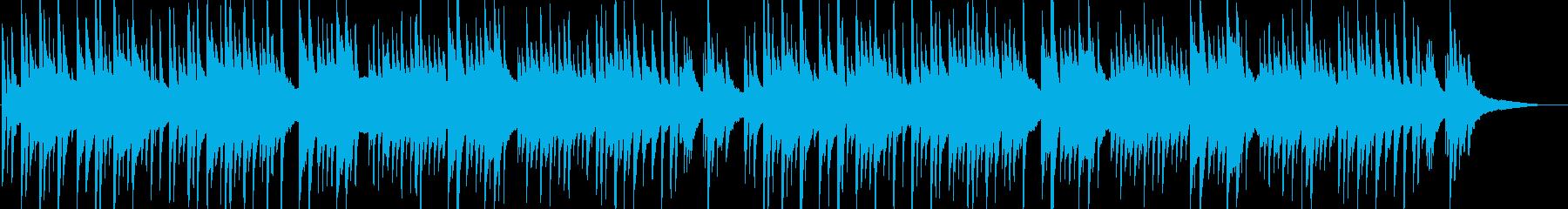 穏やか・安らぎ・癒しのハープソロBGM2の再生済みの波形