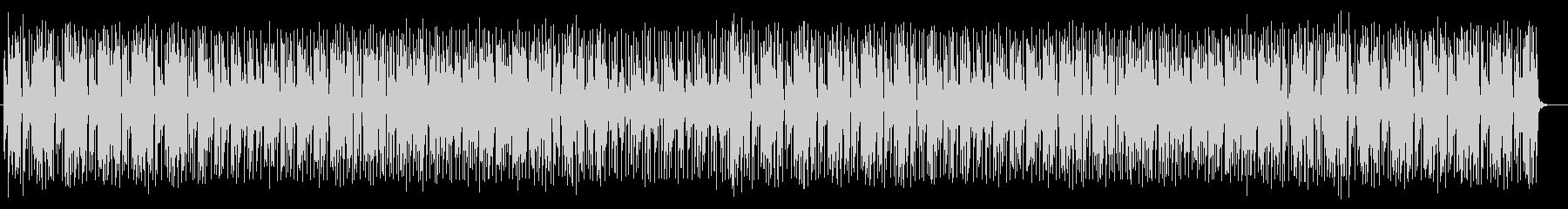 活気あるポップミュージックの未再生の波形