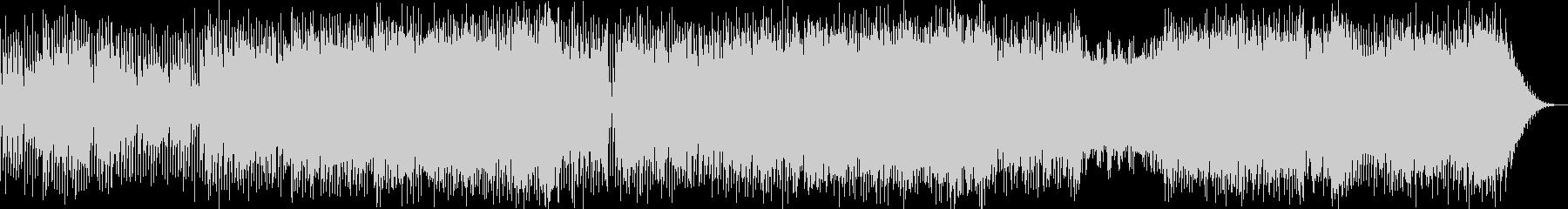 冬イメージのポップ系インストの未再生の波形