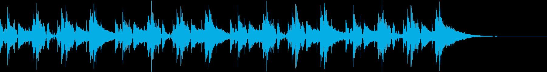 Pf「葉巻」和風現代ジャズの再生済みの波形
