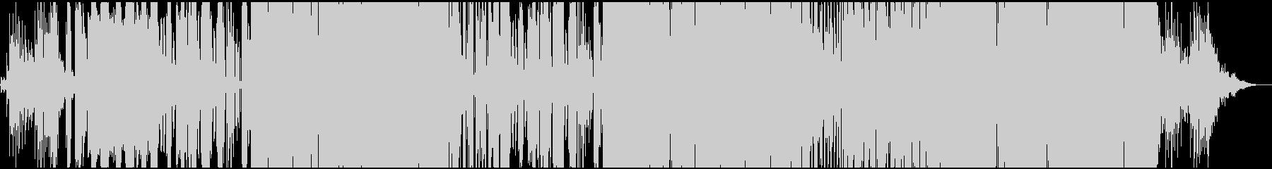 ファンクなグルーヴのカッコいいジングルの未再生の波形