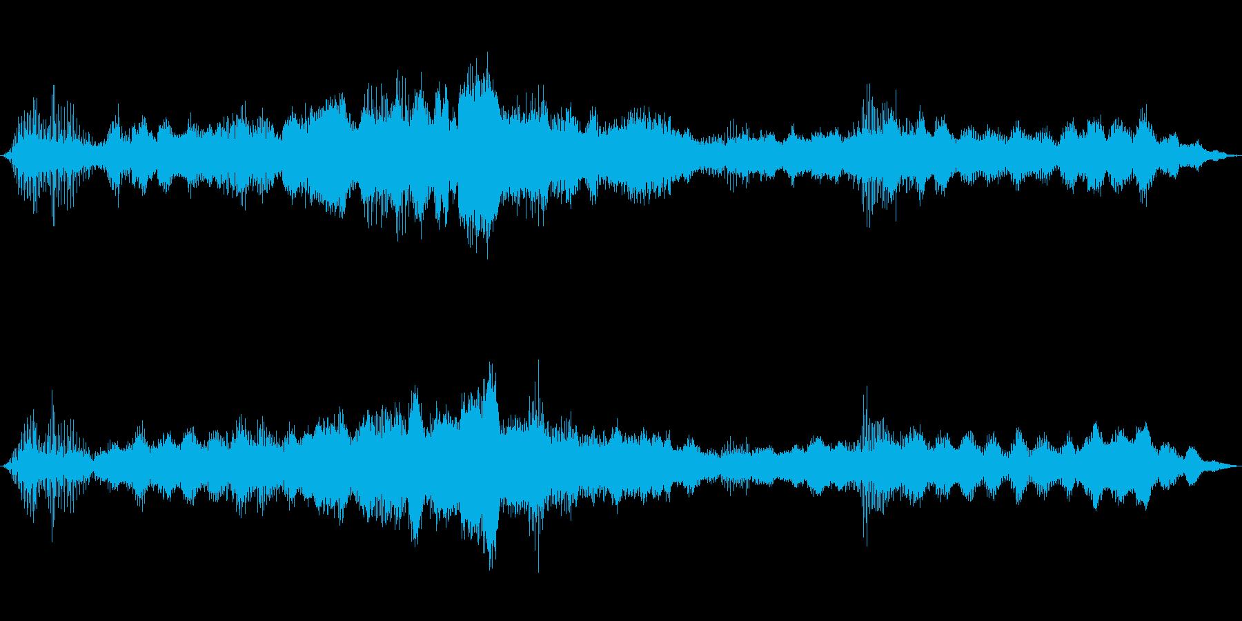 ドローン 怖いチョッパー01の再生済みの波形