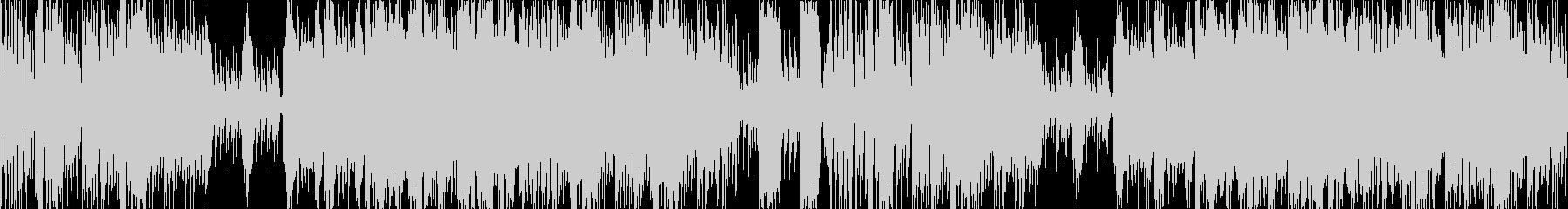 琴和太鼓ポップで和風楽曲ループ音源の未再生の波形