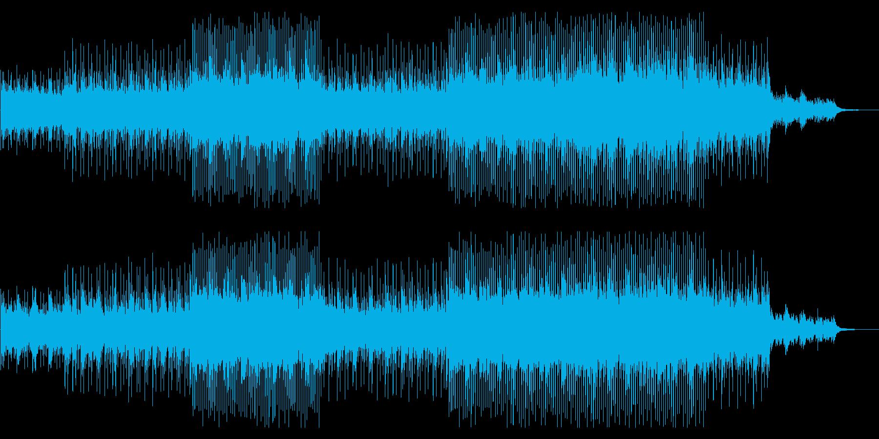 アップテンポで綺麗なコーポレート向けの再生済みの波形