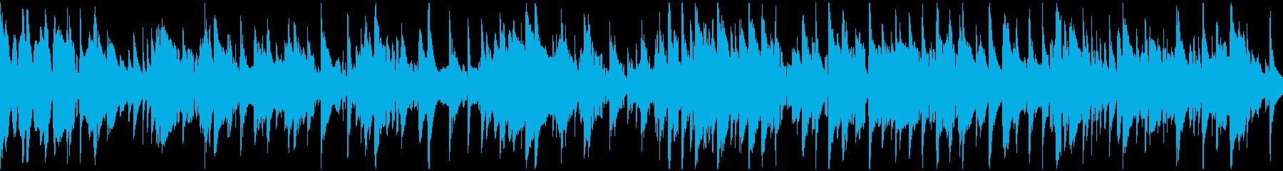 くつろぎのジャズバラード ※ループ仕様版の再生済みの波形