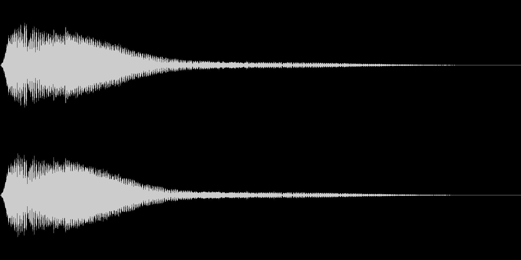電波ノイズ 4の未再生の波形