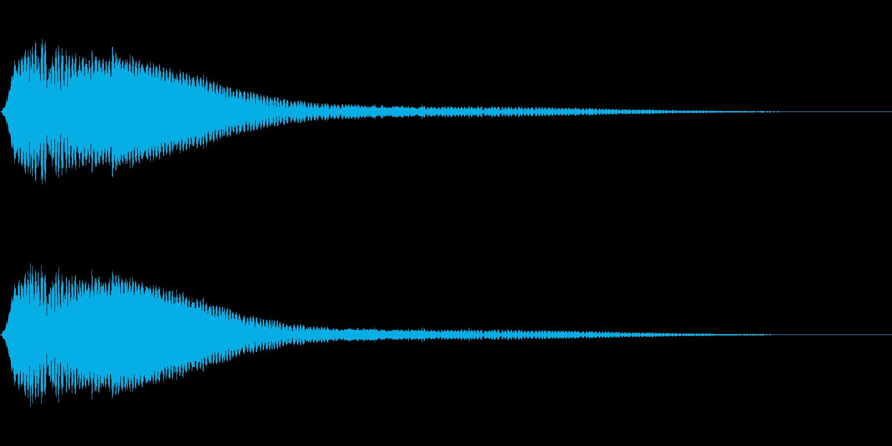 電波ノイズ 4の再生済みの波形