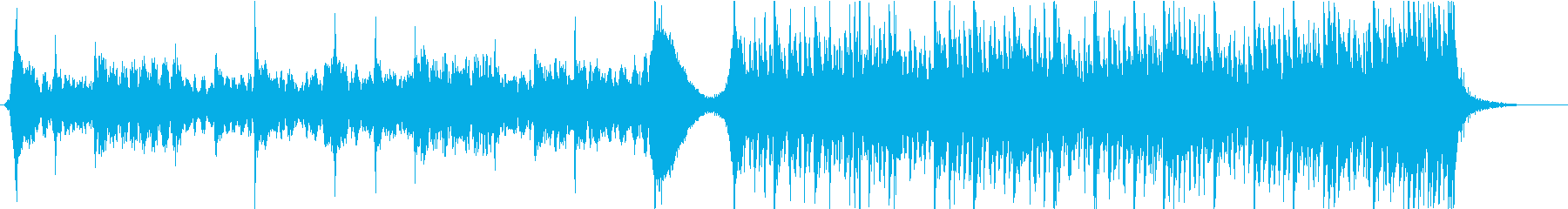 現代的 交響曲 エレクトロ 感情的...の再生済みの波形