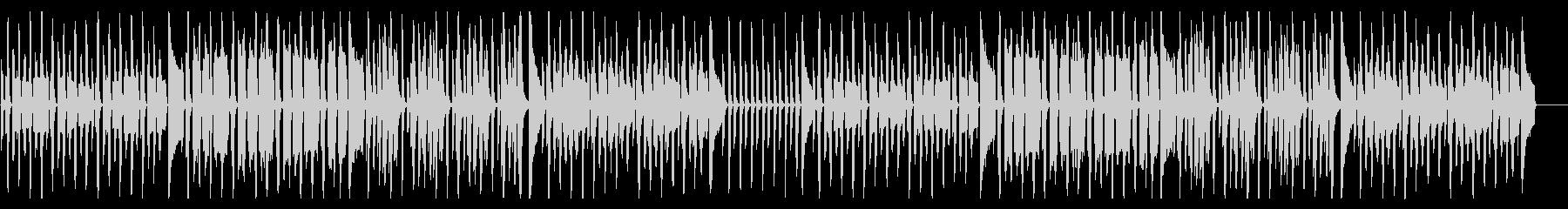 ほのぼの可愛い、コミカルな日常系BGMの未再生の波形