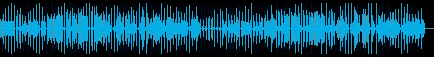 ほのぼの可愛い、コミカルな日常系BGMの再生済みの波形