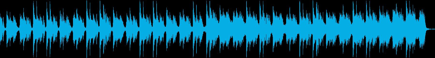 【CM】クールなエレクトロBGM・9の再生済みの波形