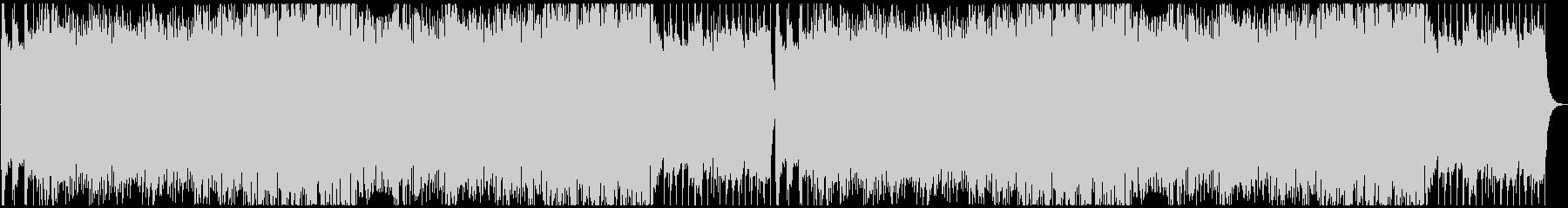 フォークメタル戦闘曲の未再生の波形