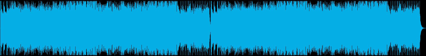 フォークメタル戦闘曲の再生済みの波形