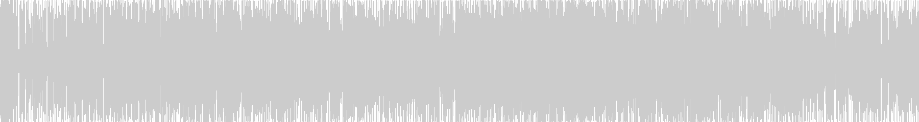 8bitピコピコの未再生の波形