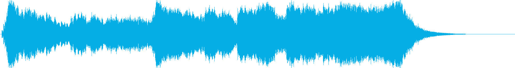 VICTORY FANFAREの再生済みの波形